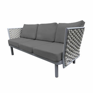 Laguna Sofa (Silver Durarope) | Your Patio Store