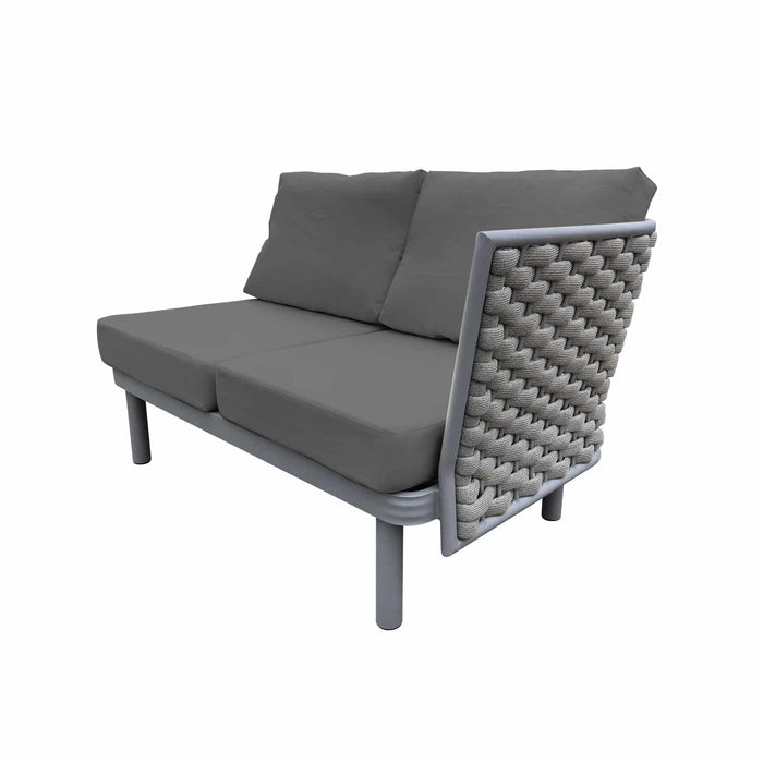 Laguna Right Arm Loveseat (Silver Durarope)