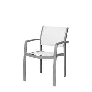 Florence Dining Arm Chair - Kessler Silver
