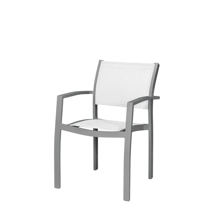 Florence Dining Arm Chair - Tex Gray