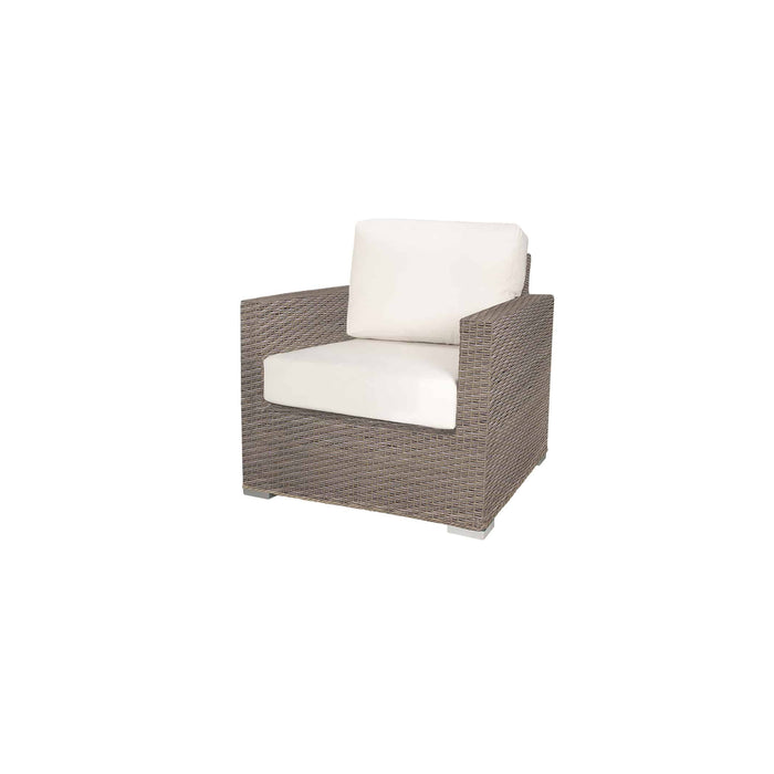 La Jolla Club Chair - California Sand w/ Std Cushion