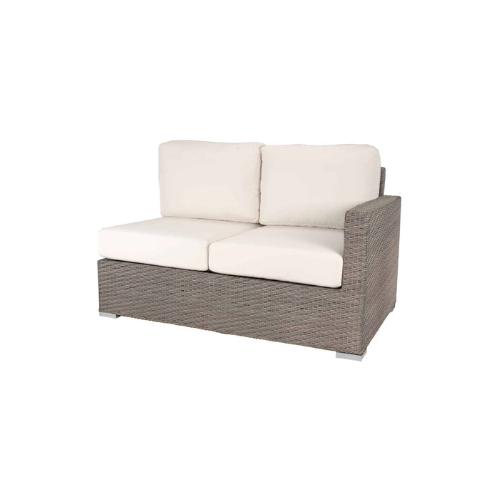 La Jolla Right Arm Loveseat - California Sand w/ Std Cushion