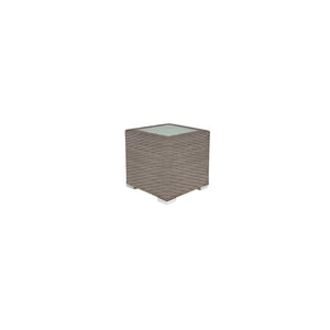 La Jolla End Table (Square) - California Sand | Your Patio Store