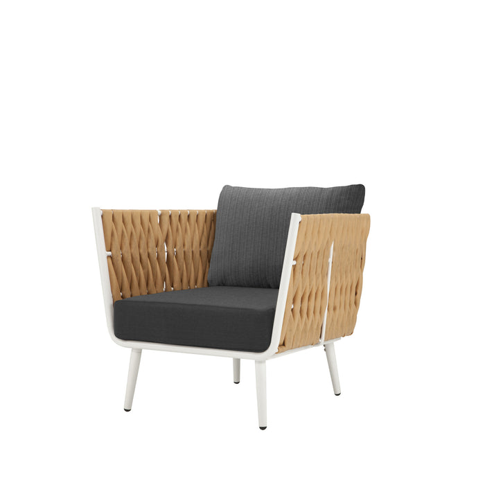 Aegean Club Chair - Camel