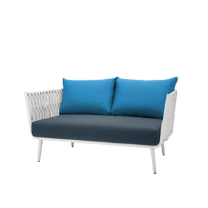 Aegean Loveseat - White | Your Patio Store