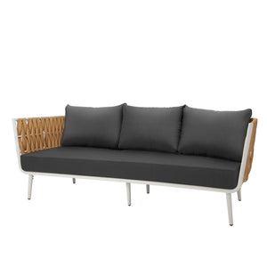 Aegean Sofa - Camel | Your Patio Store