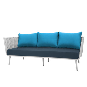 Aegean Sofa - White | Your Patio Store