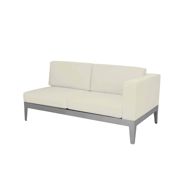 SoHo Right Arm Loveseat - Kessler Silver