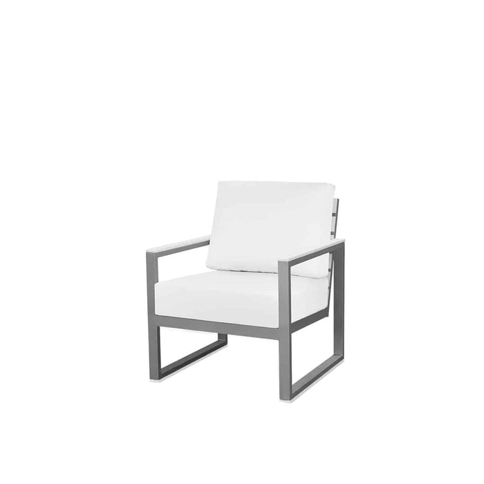 Mirabella Club Chair - Kessler Silver