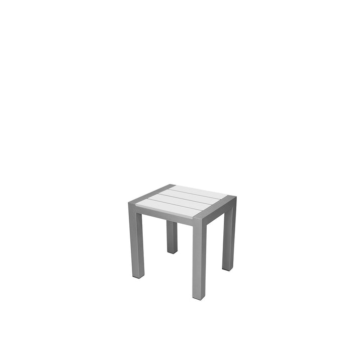 Mirabella End Table (Square) - Kessler Silver