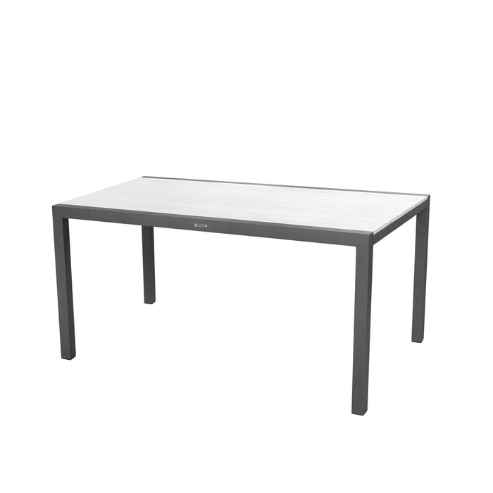 "Mirabella 60"" Dining Table (Rectangular) - Kessler Silver"