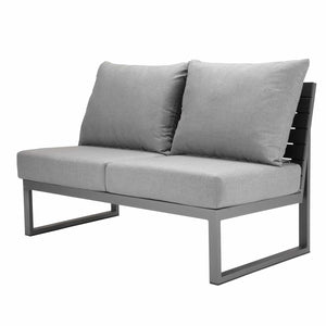 Mirabella Sectional Armless Loveseat | Your Patio Store