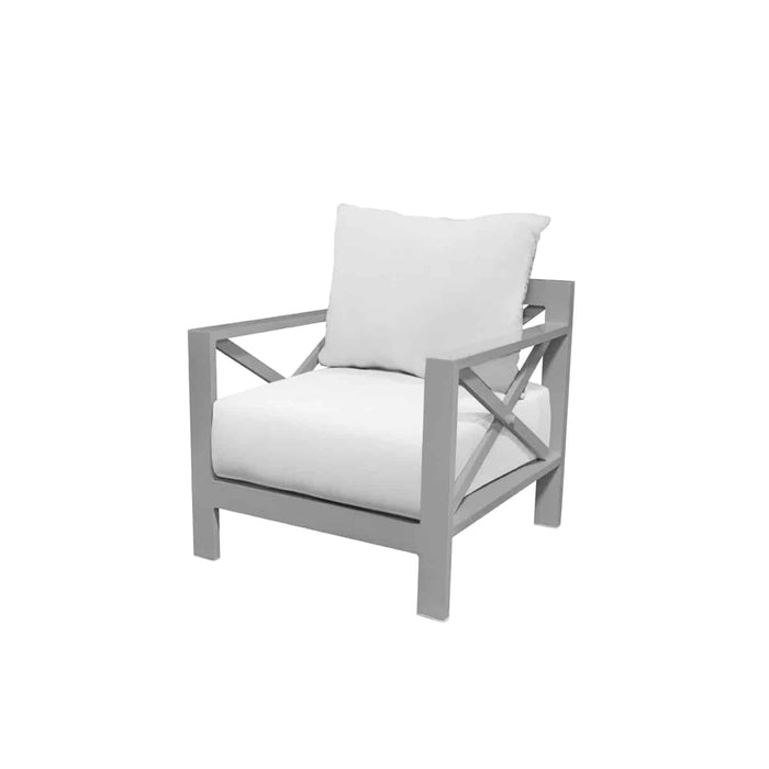 Destin Club Chair - Tex Gray