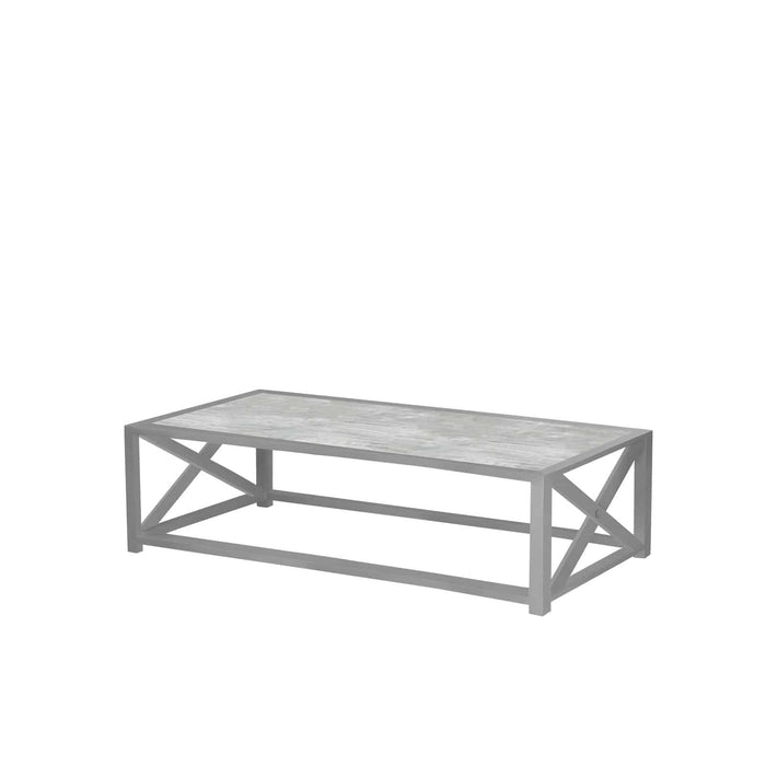 Destin Coffee Table - Tex Gray