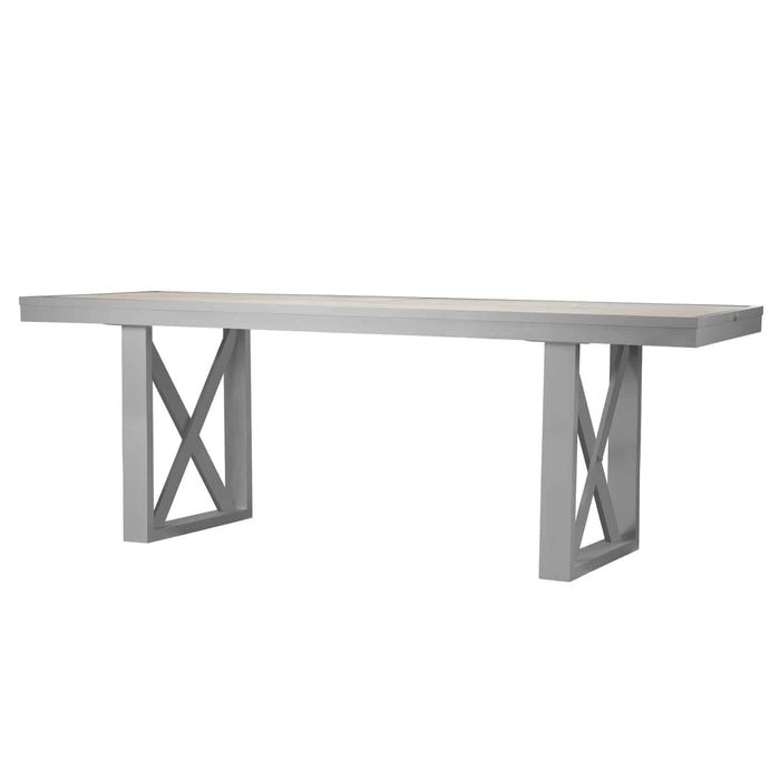 Destin Mega Bar Table - Kessler Silver
