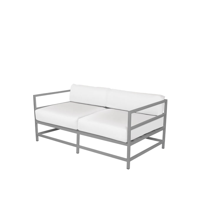 Dakota Loveseat - Kessler Silver