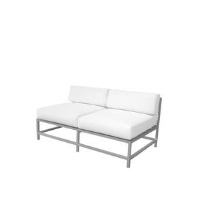 Dakota Armless Loveseat | Your Patio Store
