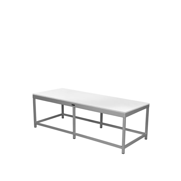 Dakota Coffee Table Rectangular with Duraboard Top - Tex White