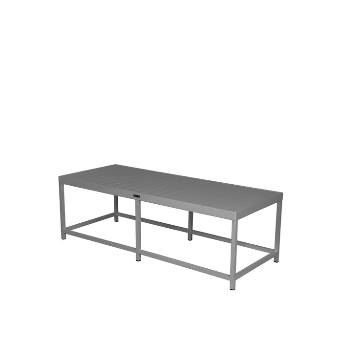 Dakota Coffee Table Rectangular - Kessler Silver