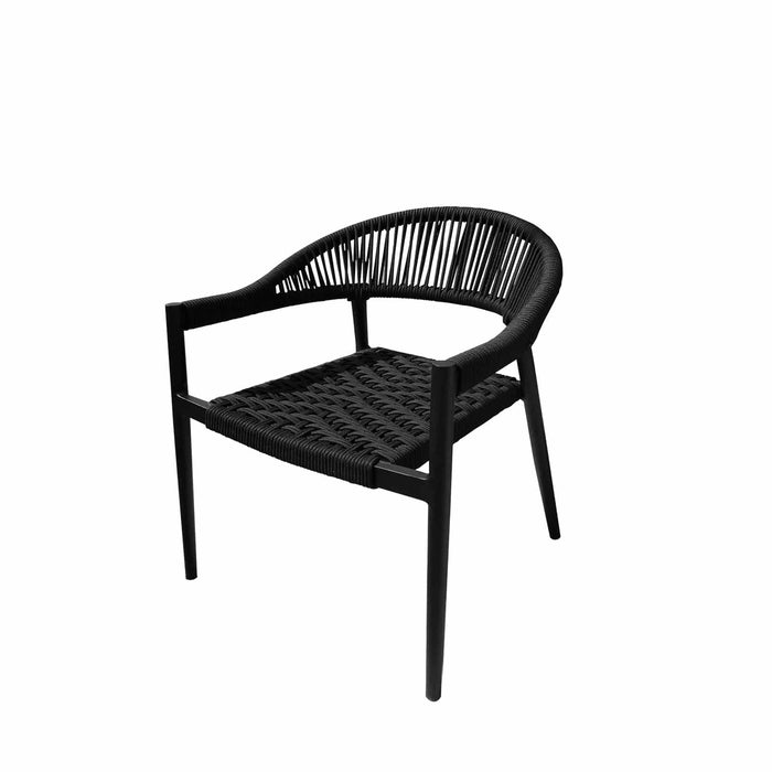 Savanna Club Chair (Black Durarope)