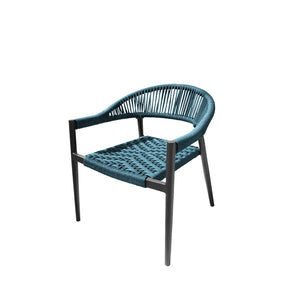 Savanna Club Chair (Teal Durarope)