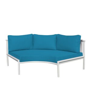 Savanna Armless Sofa (Gray Durarope)
