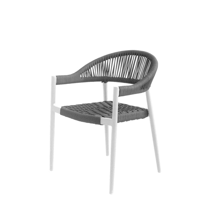Savanna Dining Arm Chair (Gray Durarope)