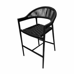 Savanna Bar Arm Chair (Black Durarope)
