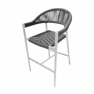 Savanna Bar Arm Chair (Gray Durarope)