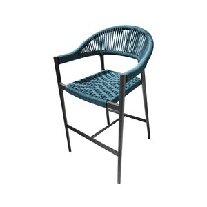 Savanna Bar Arm Chair (Teal Durarope)