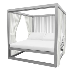 Bayside Daybed with Functional Side Curtains | Your Patio Store