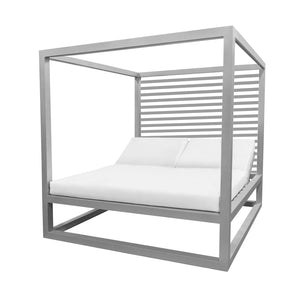 Bayside Daybed with Aluminum Slats (Back) | Your Patio Store