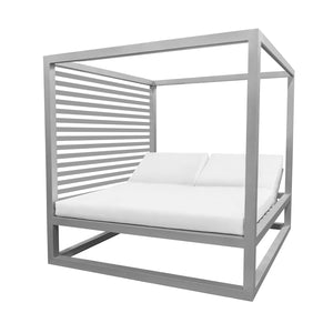 Bayside Daybed with Aluminum Slats (Left Side) | Your Patio Store