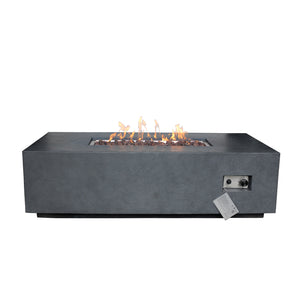 Europa Rectangular Fire Table