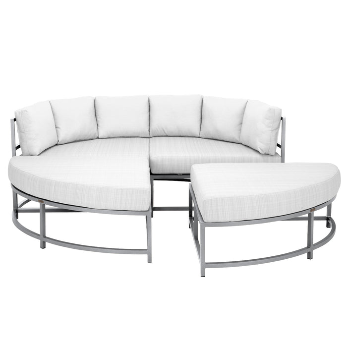 Dakota 4 Piece Daybed - Tex White