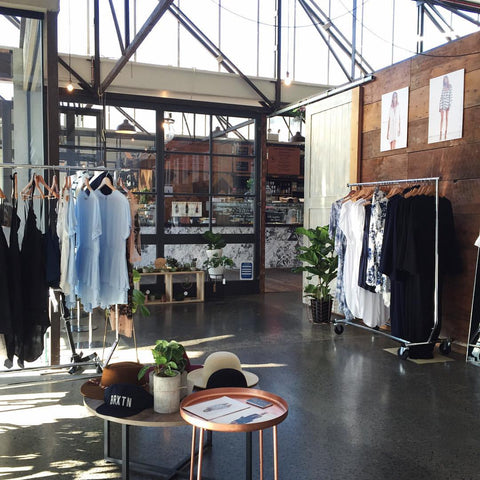 Ponsonby pop up store interior inspiration New Zealand