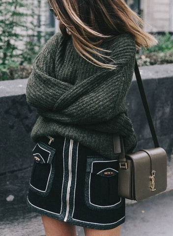 Winter skirt and jumper