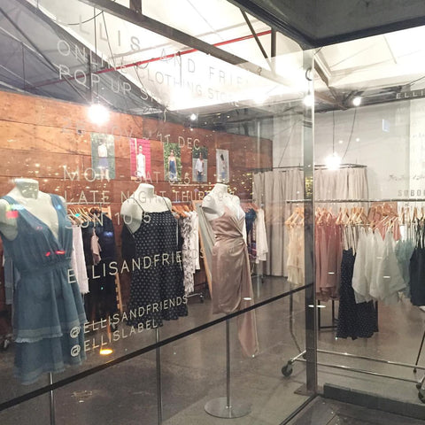 Ponsonby pop up shop location - Ellis and Friends - Womens boutique - Auckland New Zealand