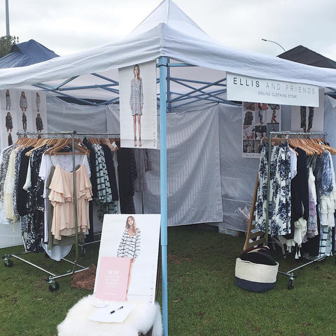 Market stall clothing fashion