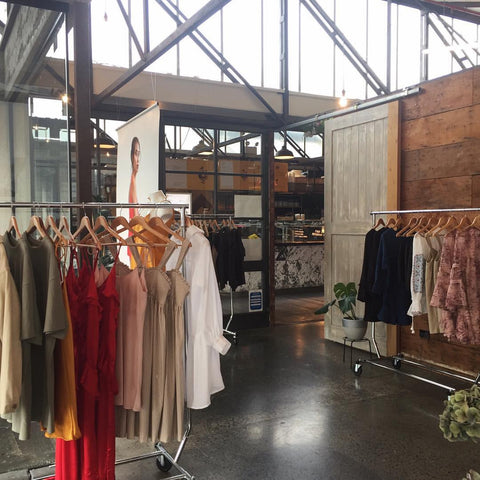Pop up shop - Ponsonby Auckland - Ellis and Friends - Fashion retailer
