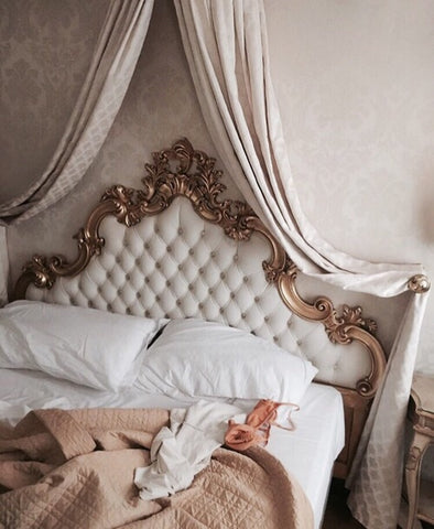 Vintage princess bed