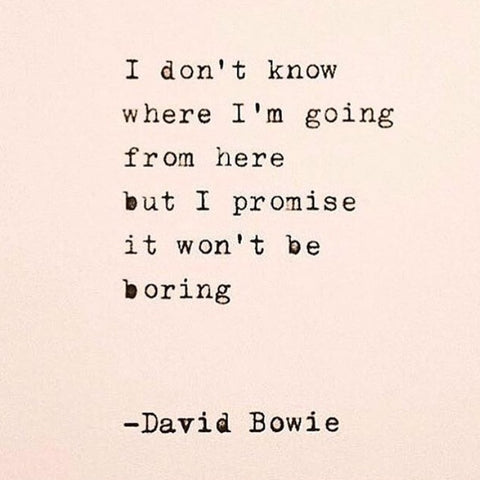 David Bowie quote inspiration fashion tumblr pinterest