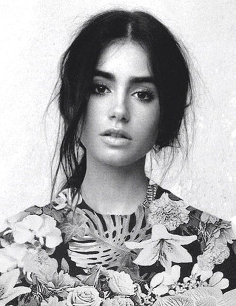 Lily Collins fashion tumblr beauty pinterest