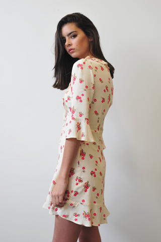 For love and lemons cherry sun dress