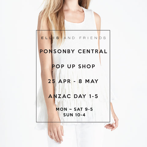 Ponsonby pop up store Auckland New Zealand