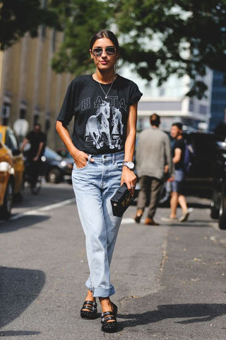Patricia Manfield street style - Outfit fashion week