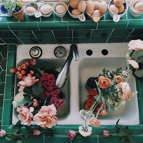 Floral flowers market pinterest tumblr