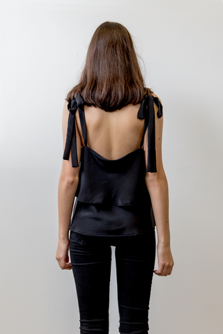 Amelie Bo Top in Black, Tops, Ellis Label - Ellis and Friends
