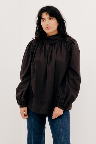 Ami Blouse in Black