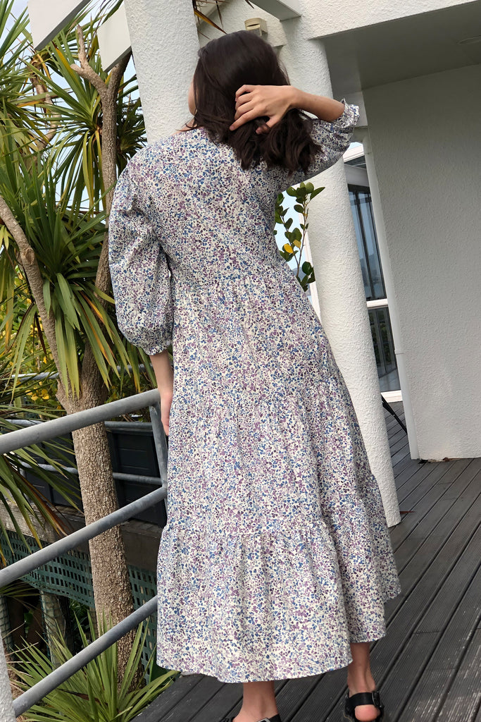 Basa Maxi Dress in Liberty Floral, Dress, Ellis Label - Ellis and Friends